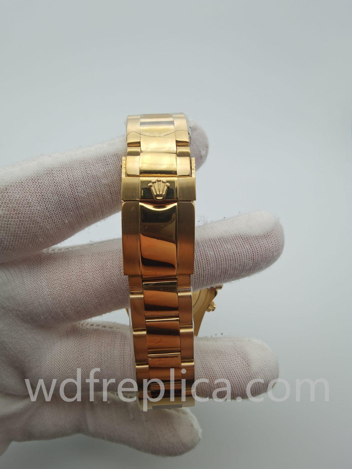 Rolex Daytona 116508 40mm Man Sapphire Glass Green Dial