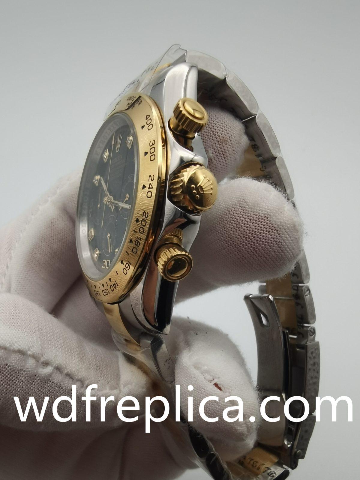 Rolex Daytona 116523 40mm Men Yellow Gold Sub Dials Watch