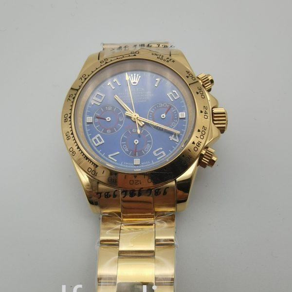 Rolex Daytona 116528 40mm Men's Yellow Gold Domed Watch