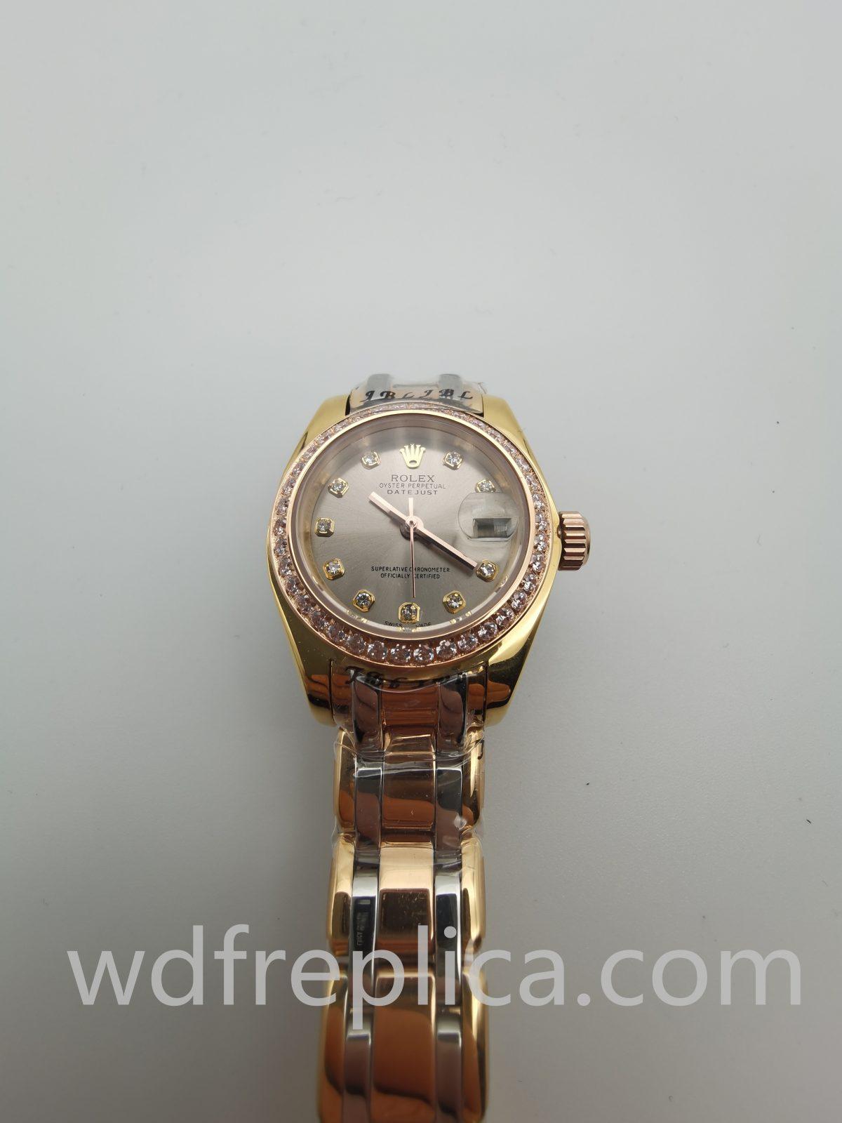 Rolex Datejust 80298 Steel Yellow Gold 26mm Ladies Watch