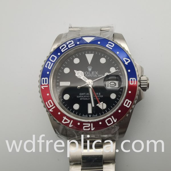 Rolex Gmt-master 126710blro 40mm Black Dial For Man Watch