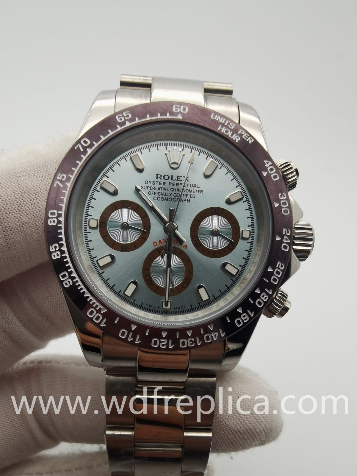 Rolex Daytona M116506-0002 Light Blue Silver 40mm Mens Watch