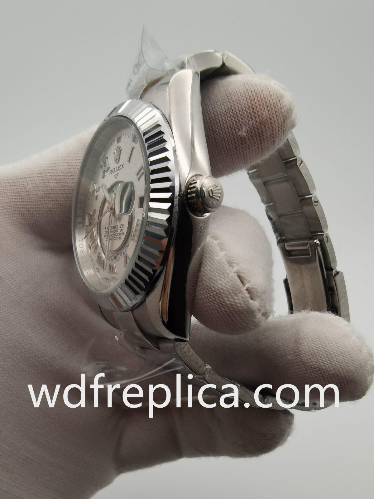 Rolex Sky Dweller 326938 42mm White Gold For Men Watch