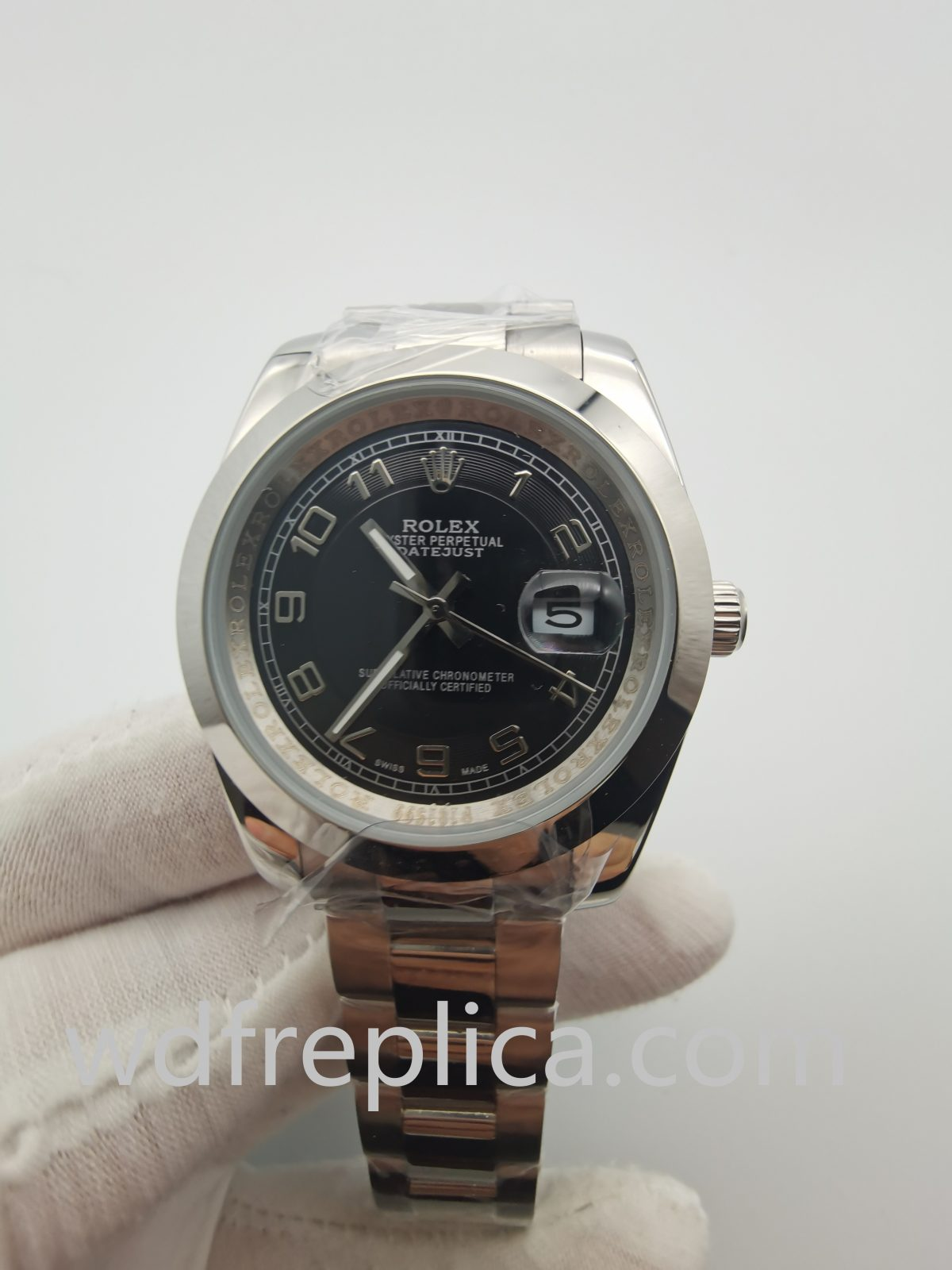 Rolex Datejust 116200-blusdj Stainless Steel Strap Material Watch