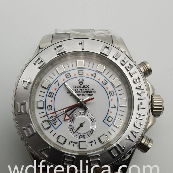Rolex Yacht-master 116689 44mm 316 Grade Stainless Steel And White Watch For Men