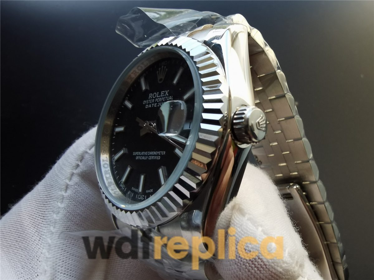 Rolex Datejust 126334 41mm Stainless Steel Rhodium Dial For Men Watch