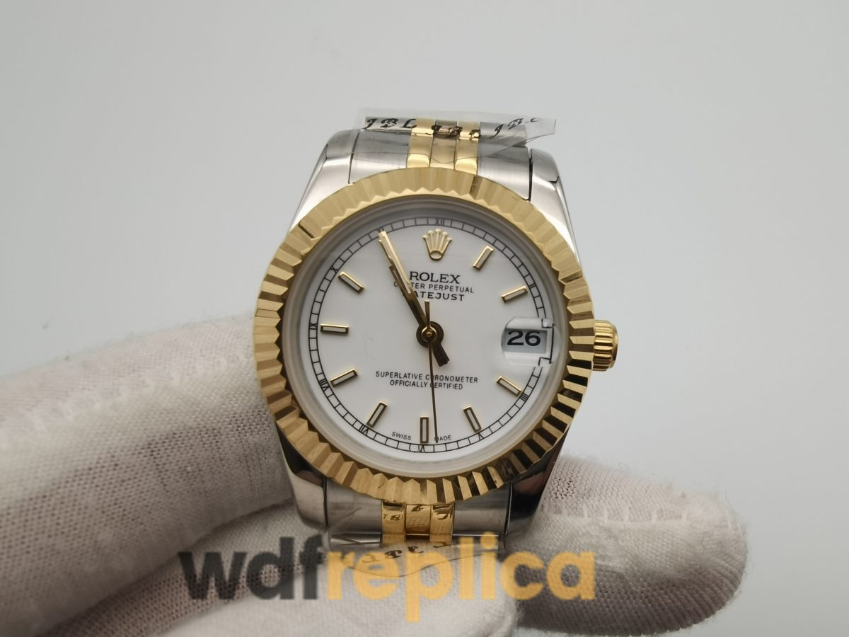 Rolex Datejust 178273 Stainless Steel And 18k Yellow Gold Silver Dial 31mm For Women Watch