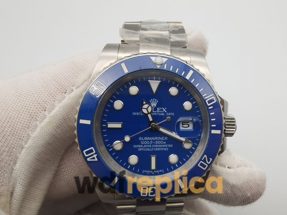Rolex Submariner 116619 316 Grade Stainless Steel And Blue Dial For Men 40mm Watch