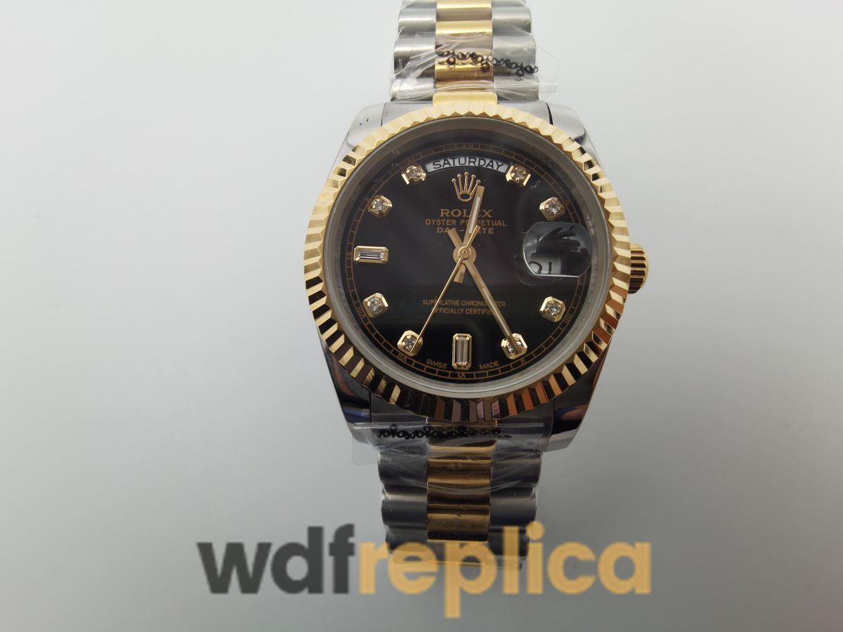 Rolex Day-date 118238 Stainless Steel Yellow Gold 36mm For Men Watch