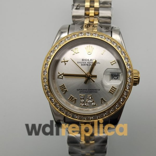 Rolex Datejust 178383 Stainless Steel For Women 31mm Watch