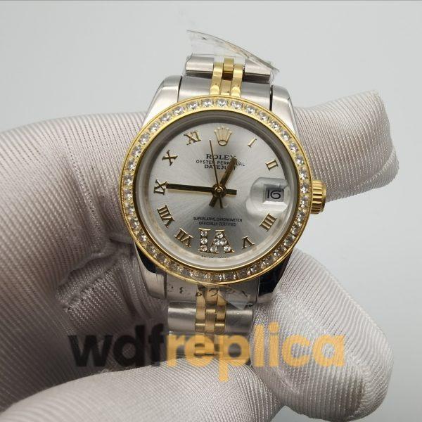 Rolex Datejust 178383 Stainless Steel For Women 31mm Watch