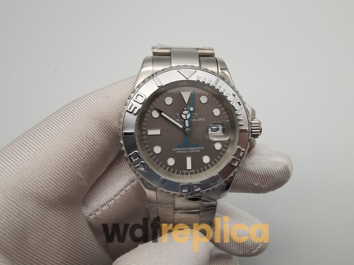 Rolex Yacht-master 116622 40mm Stainless Steel Case Gray And White Dial For Men Watch