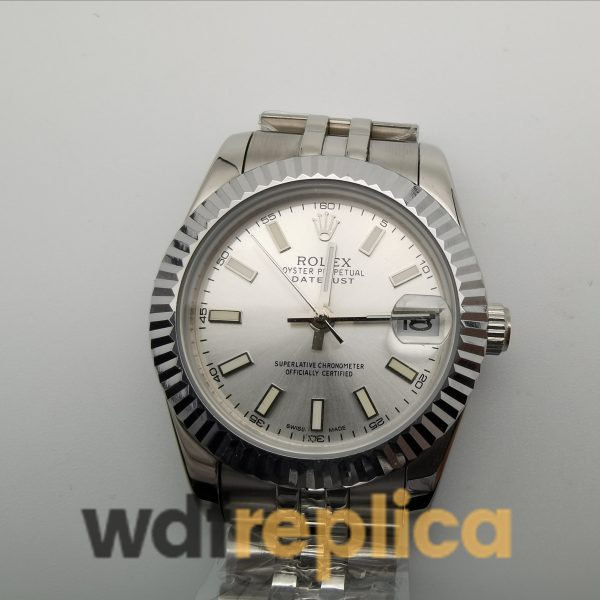 Rolex Datejust 68274 Silver Dial And 316 Grade Stainless Steel For Women 31mm Watch