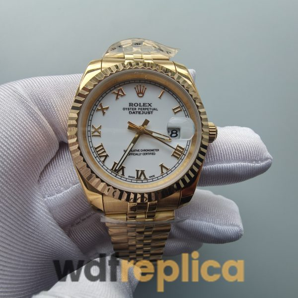 Rolex Datejust 126333 904l Fine Steel Case And White 41mm For Men Watch