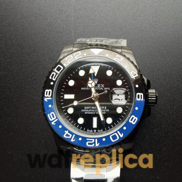 Rolex Gmt-master 116710 Black Dial And Stainless Steel For Men 40 Mm Watch