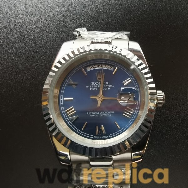 Rolex Day-date 228239 White Gold Case Blue Dial For Men 40mm Watch