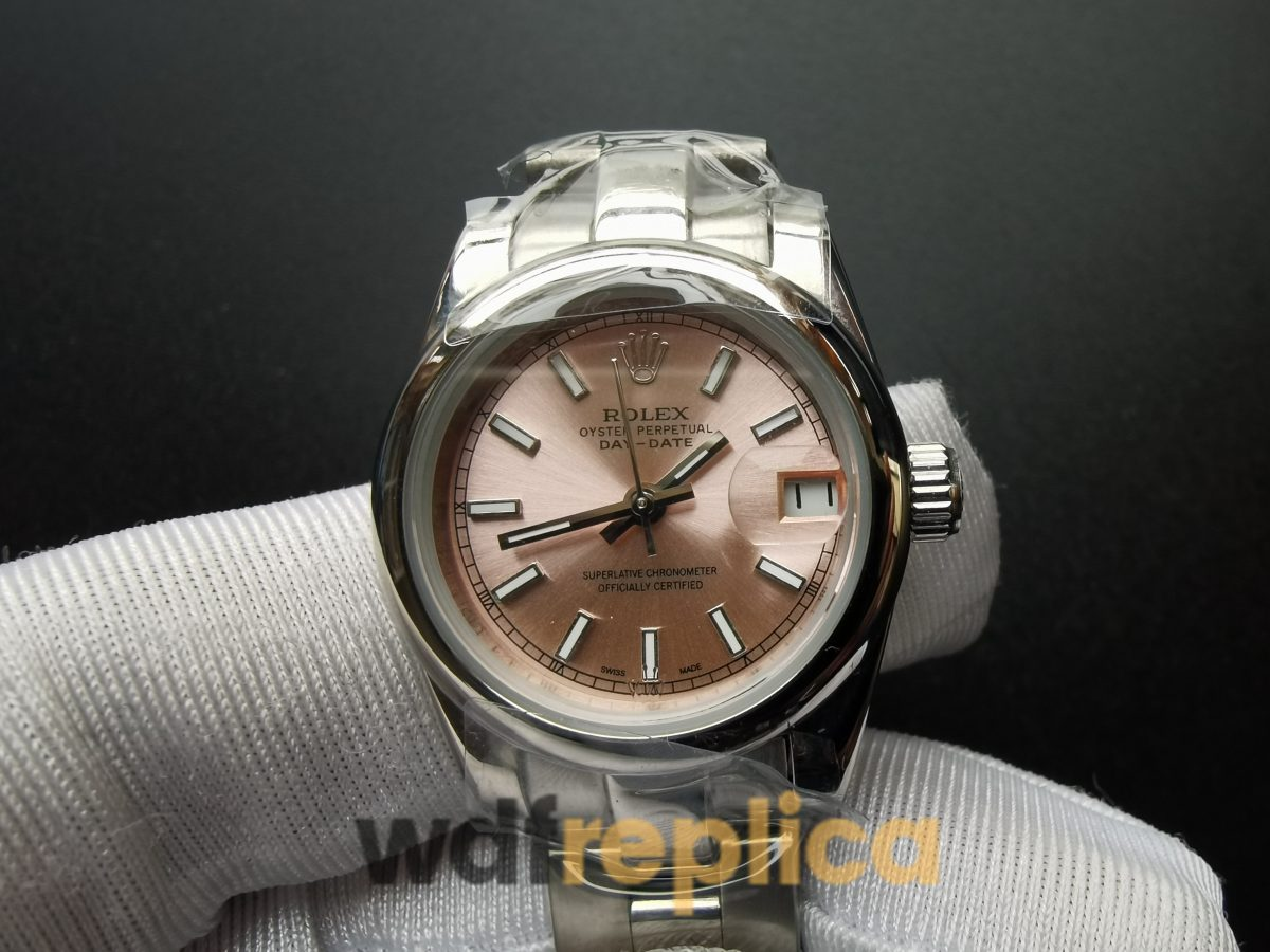 Rolex Datejust 179160 26mm Stainless Steel Pink Dial For Women Watch