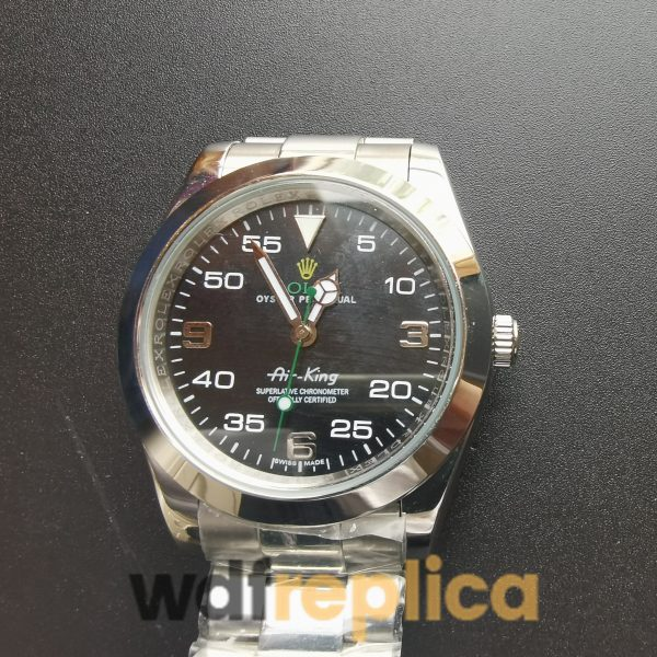 Rolex Air-king 116900 Black Dial And Stainless Steel 40mm For Men Watch