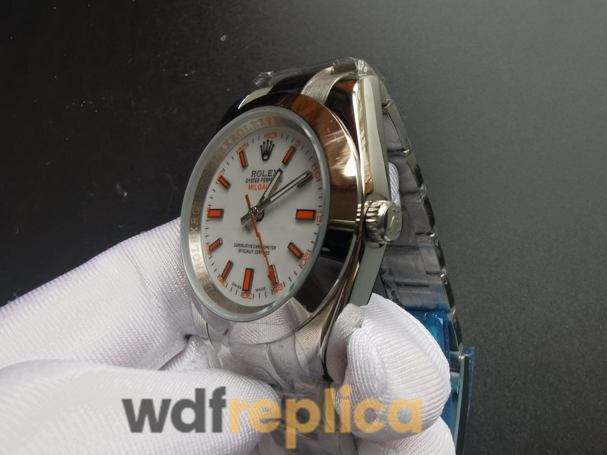 Rolex Milgauss 116400 White Dial Oyster And Stainless Steel For Men 40mm Watch