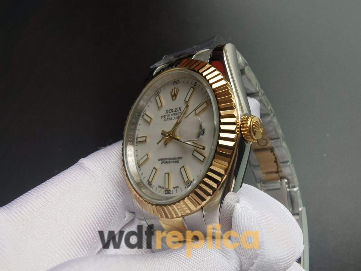 Rolex Datejust 2813 Stainless Steel And 18k Yellow Gold For Men Watch