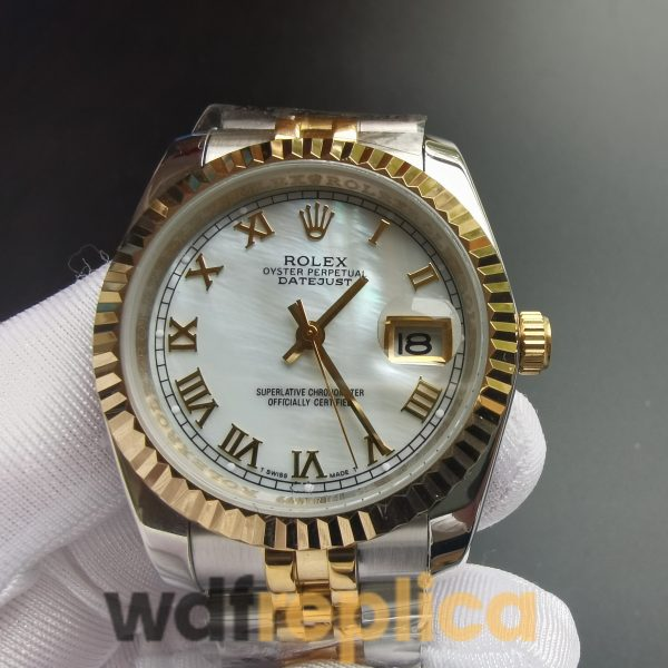 Rolex Datejust 116233 36mm Silver & Yellow Gold Stainless Steel For Men Watch