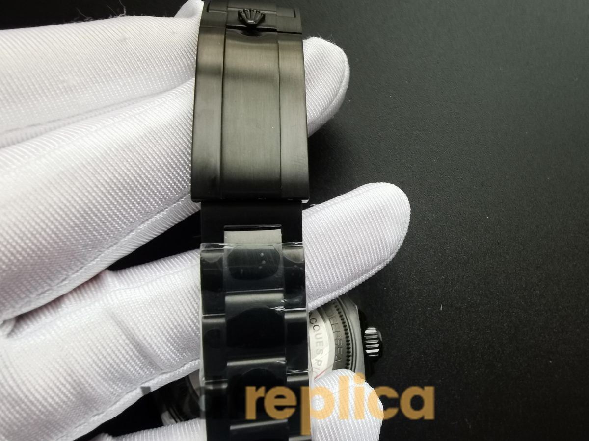 Rolex Deepsea 116660 44mm Black Dial And Stainless Steel Case For Men Watch