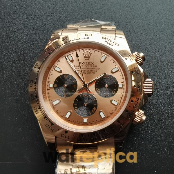 Rolex Daytona 116505 40mm 18kt Everose Gold Case And Pink For Men Watch