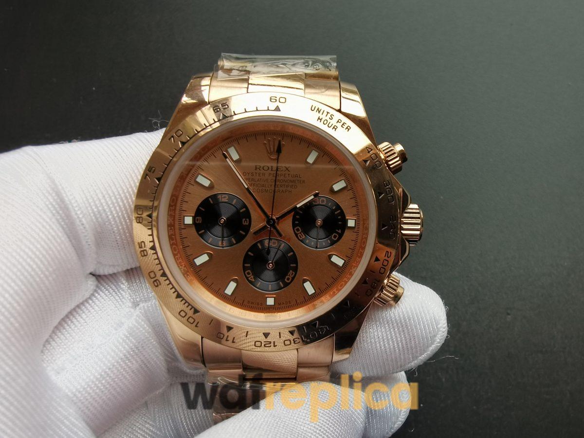 Rolex Daytona 116505 40mm 18kt Everose Gold Case And Pink For Men Watch