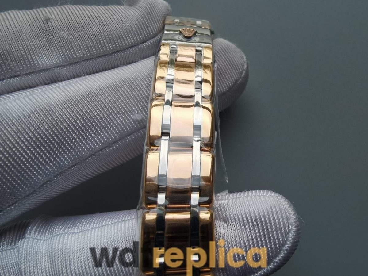Rolex Pearlmaster 29mm Yellow Gold Champagne Diamond For Women Watch