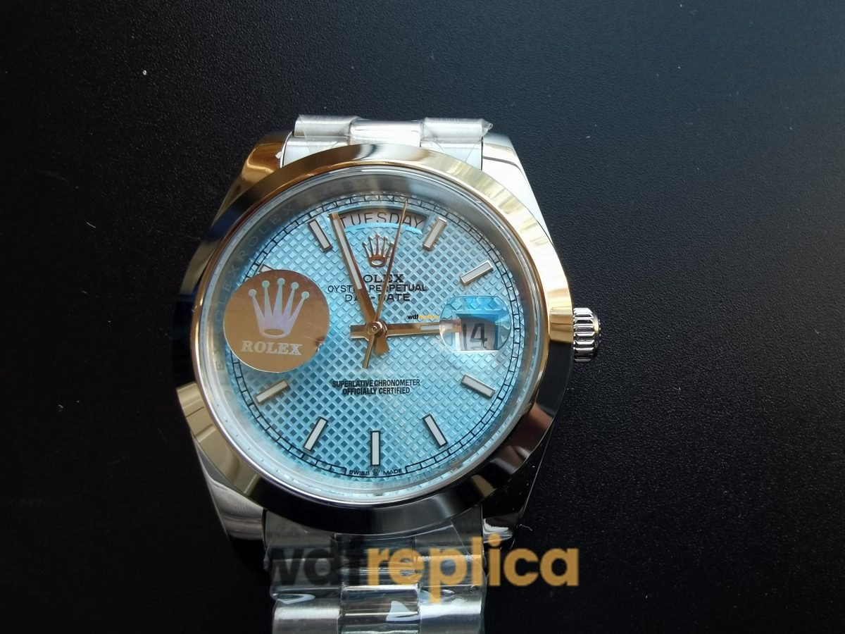 Rolex Daytona A3255 Solid 316F Stainless Steel Blue Dial 40mm For Men Watch