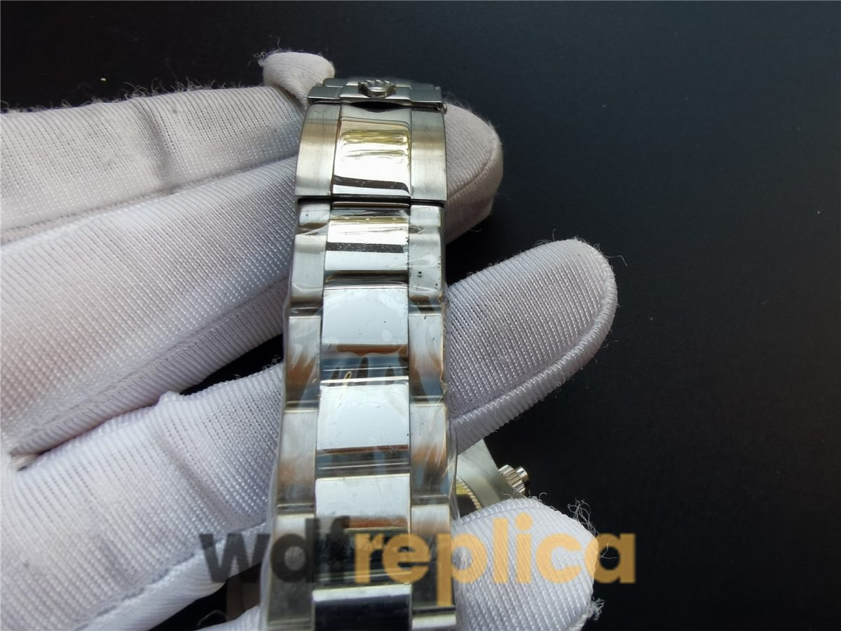 Rolex Daytona 116500 40 Mm Oystersteel White Dial For Men Watch