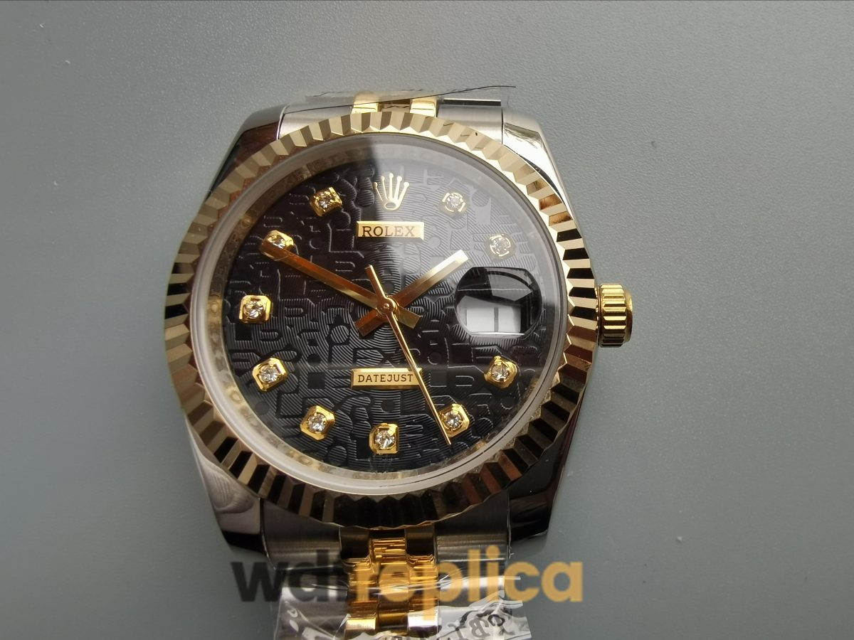 Rolex Datejust 116233 36 Mm 18k Yellow And Stainless Steel For Women Watch